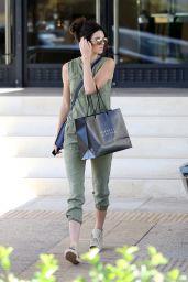 Kendall Jenner - Leaving Barney