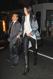 Kendall Jenner Night Out Style - at Red Stixs Restaurant in NYC, April 2015