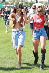 Kendall & Kylie Jenner, Hailey Baldwin – 2015 Coachella Music Festival in Indio – Day 1