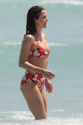 Keri Russell in a Bikini at a beach in Miami - April 2015