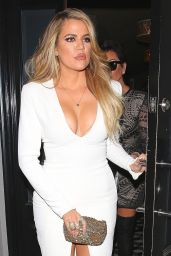 Khloe Kardashian Night Out Style - Leaving Craig