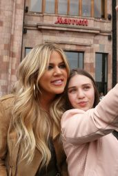 Khloe Kardashian - Out in Yerevan, Armenia, April 2015