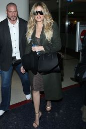 Khloe Kardashian Pics - at LAX Airport, April 2015