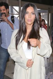 Kim Kardashian at LAX Airport in Los Angeles, April 2015