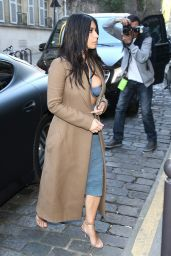 Kim Kardashian at Montaigne Market and at the COSTES Restaurant in Paris - April 2015
