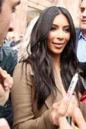 Kim Kardashian – Out in Yerevan, Armenia, April 2015