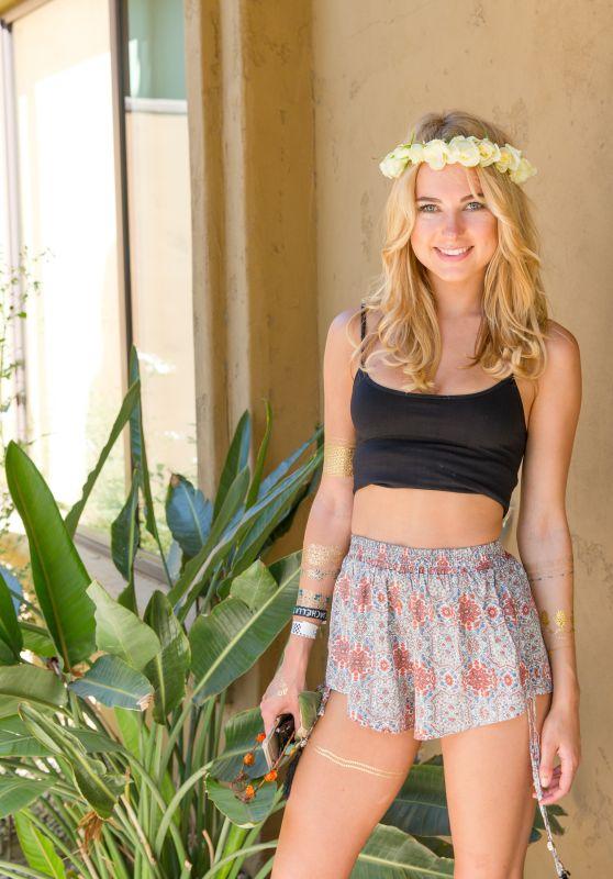Kimberley Garner - Birchbox Cabana at Interview Magazine
