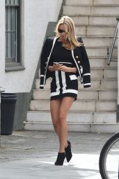 Kimberley Garner Style - Out in London, April 2015