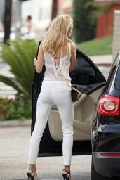 Kimberley Garner Style - Out in Los Angeles, April 2015