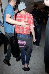 Kristen Stewart at LAX Airport, April 2015