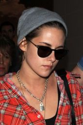 Kristen Stewart at LAX Airport, April 2015