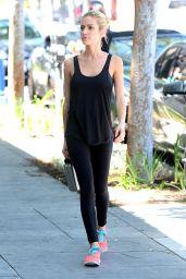 Kristin Cavallari in Tights - Out in LA, April 2015