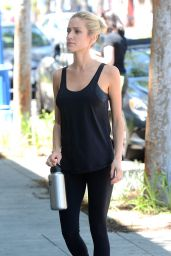 Kristin Cavallari in Tights - Out in LA, April 2015