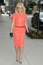 Kristin Chenoweth Style - On Her Way To The 92nd Street in New York City, April 2015