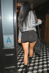 Kylie Jenner and Kendall Jenner Night Out Style - Leaving Craig