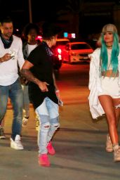 Kylie Jenner - Arriving at the Beacher