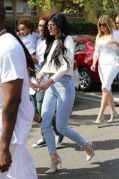 Kylie Jenner Booty in Tight Jeans - Out in Agoura Hills - April 2015