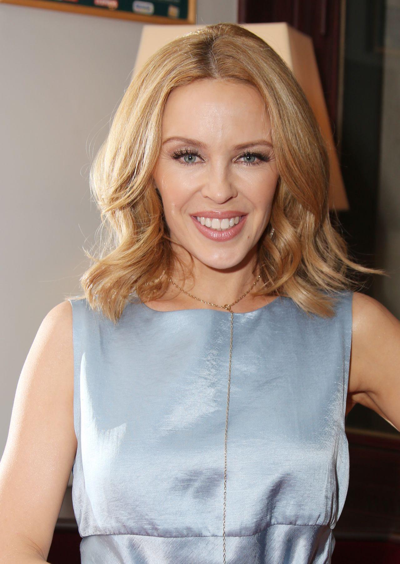 Kylie Minogue Les Grandes Filles Play Benefiting Aprec