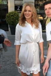 Kylie Minogue Sighed at the Zoo Hotel in Berlin, April 2015