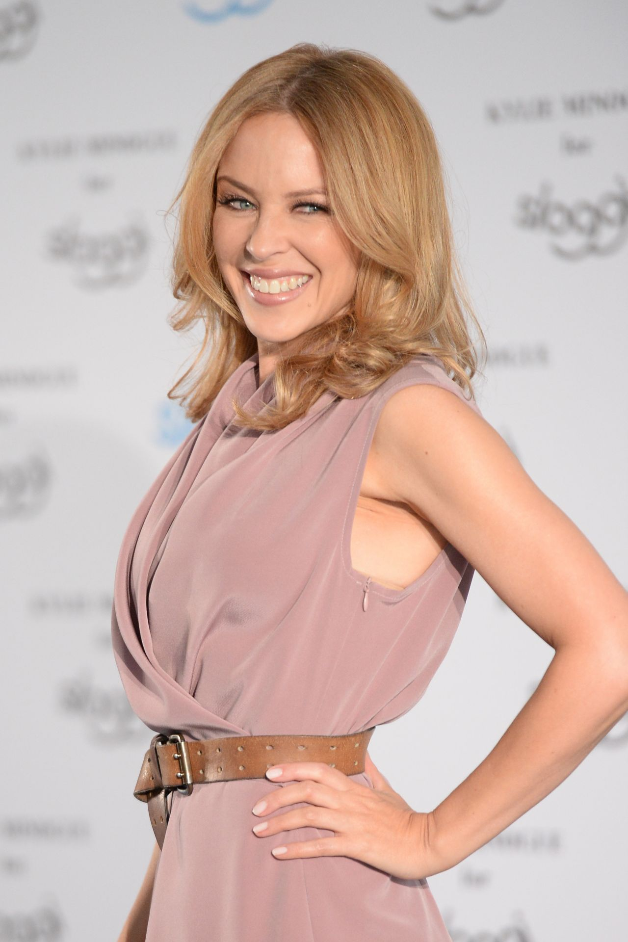 Kylie Minogue Sloggi Lingerie Q Amp A In Berlin April 2015