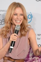 Kylie Minogue - Sloggi Lingerie Q&A in Berlin, April 2015