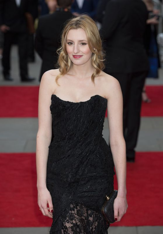 Laura Carmichael – 2015 Olivier Awards in London