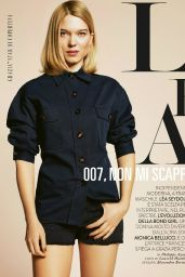 Lea Seydoux - Grazia Magazine (Italy), May 2015 Issue