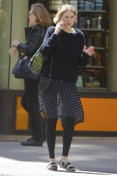 Leelee Sobieski - Out in NYC, April 2015