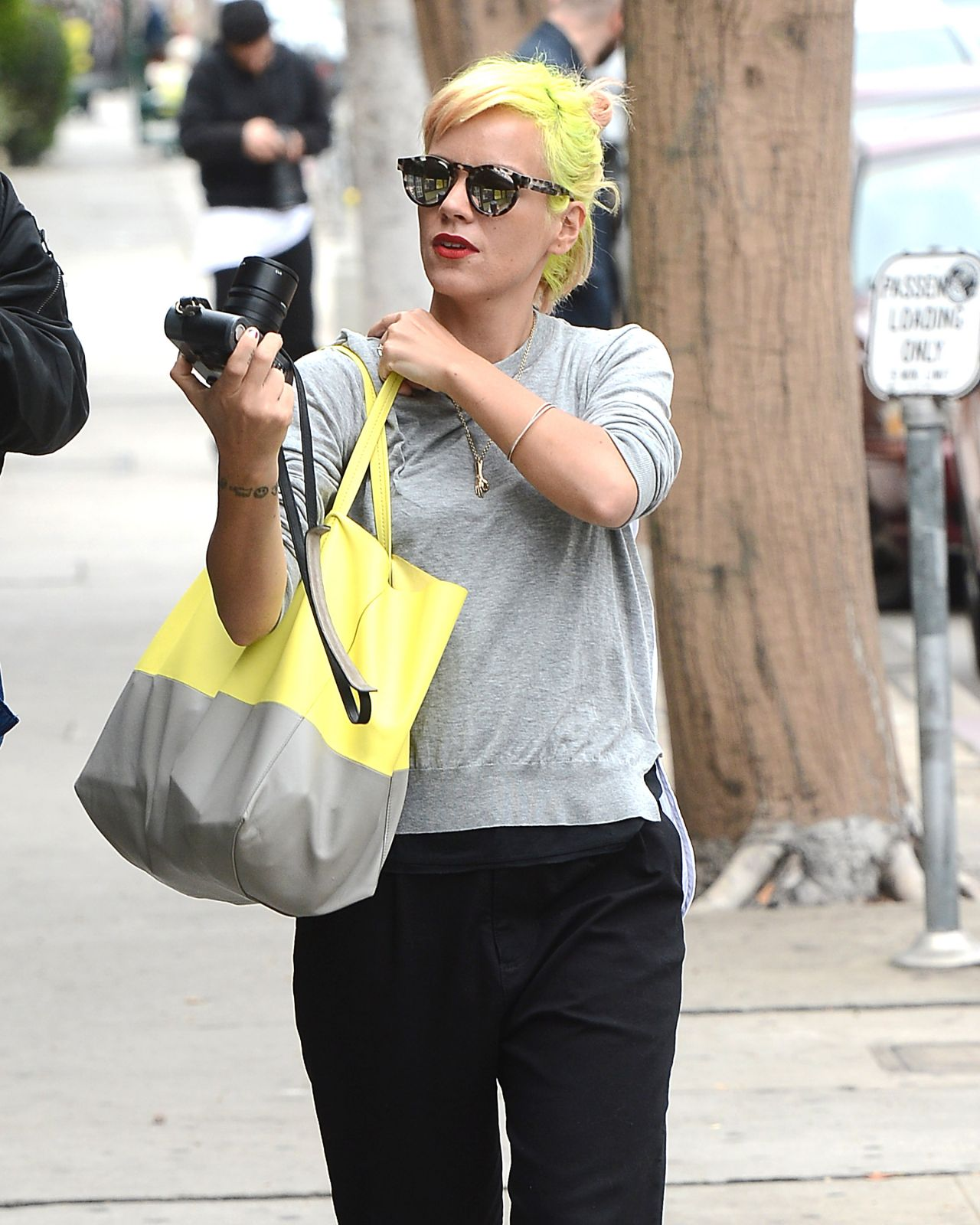 Lily Allen – Out in West Hollywood, April 2015