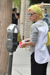 Lily Allen - Out in West Hollywood, April 2015