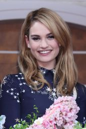 Lily James - Cinderella Photocall in Tokyo