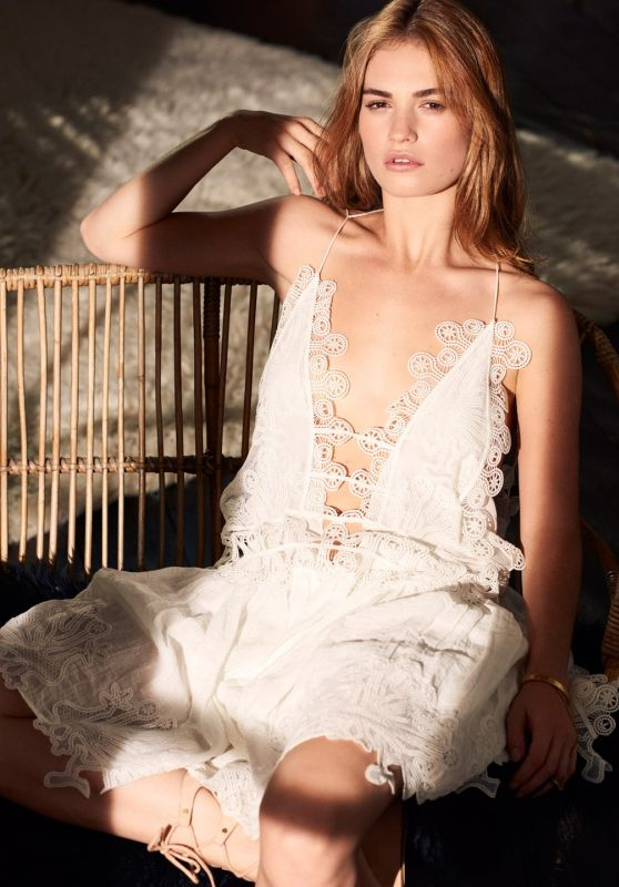 Lily James – InStyle Magazine (US) March 2015 Photos