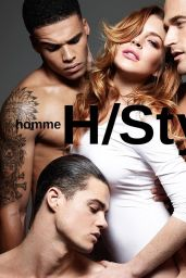 Lindsay Lohan - HOMME STYLE Spring/Summer 2015 Photos