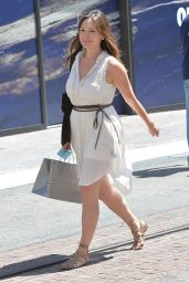 Lindsay Price Style - Shopping in Los Angeles, April 2015