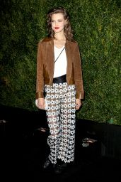 Lindsey Wixson - 2015 Tribeca Film Festival Chanel Artists Dinner at Balthazar in New York City
