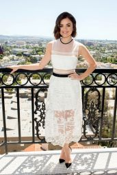 Lucy Hale - Launches mark. Spring Beauty & Fashion Collection in West Hollywood