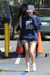 Lucy Hale - Out Getting Coffee in West Hollywood - April 2015