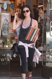 Lucy Hale - Shopping at Paper Source in Studio City, March 2015