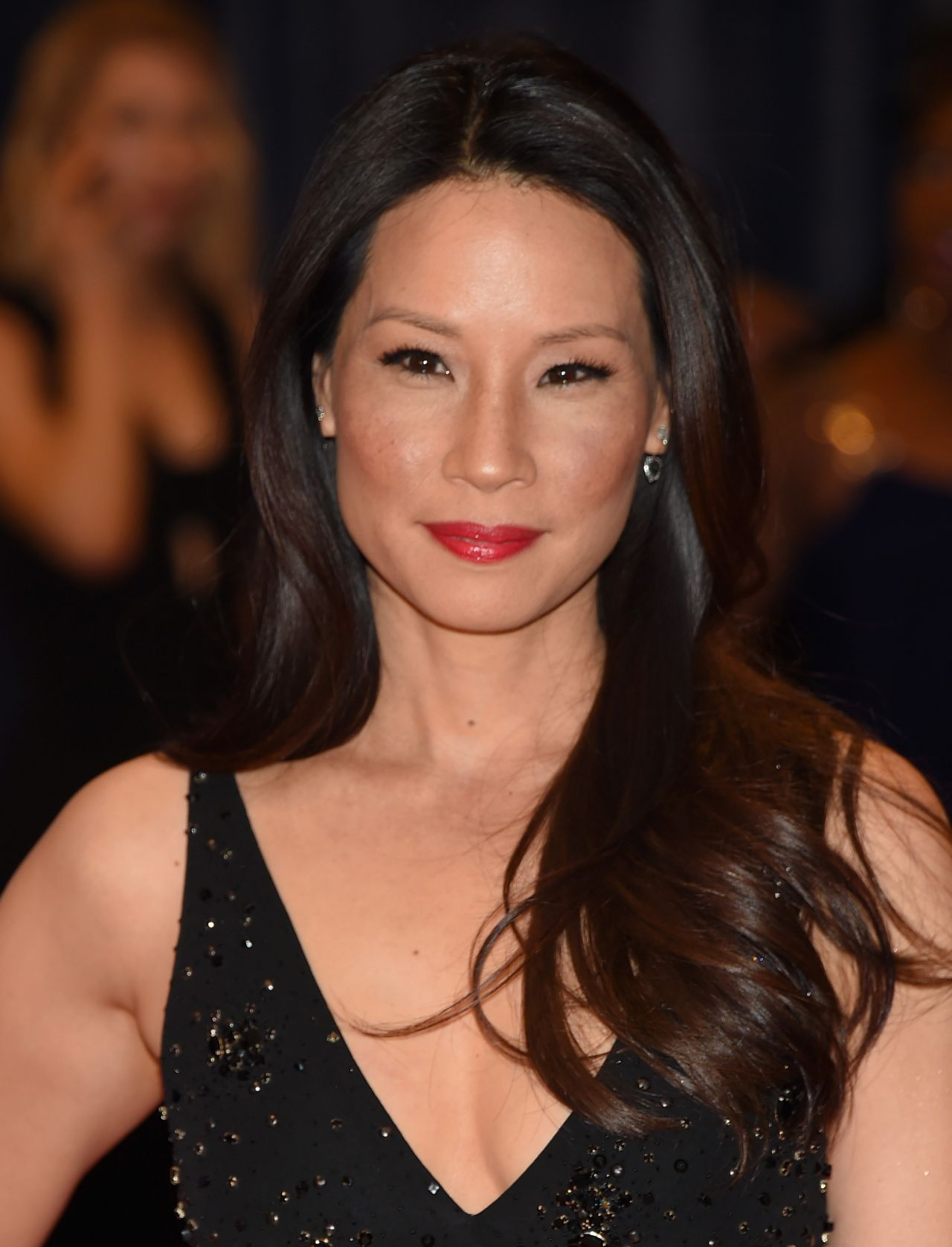 LUCY LIU at 2012 CBS Upfront in New York - HawtCelebs