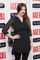 Lucy Pinder - Age Of Kill Private Screening at Ham Yard Hotel in London