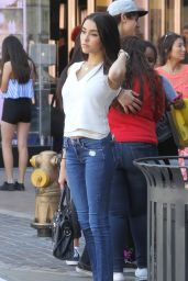 Madison Beer in Tight Jeans - Out in LA, April 2015