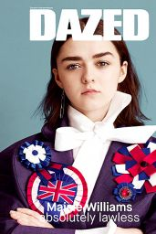Maisie Williams - Dazed Magazine Spring 2015 Issue