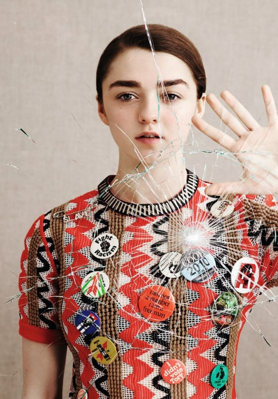 Maisie Williams – Dazed Magazine Spring 2015 Photos