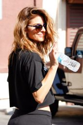 Maria Menounos - DWTS Studio in Hollywood, April 2015