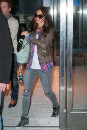 Megan Fox at JFK Airport, April 2015