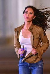 Megan Fox - Filming on Location For
