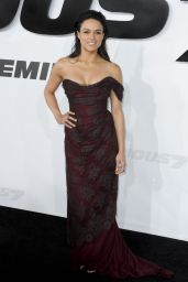Michelle Rodriguez – Furious 7 Premiere in Hollywood