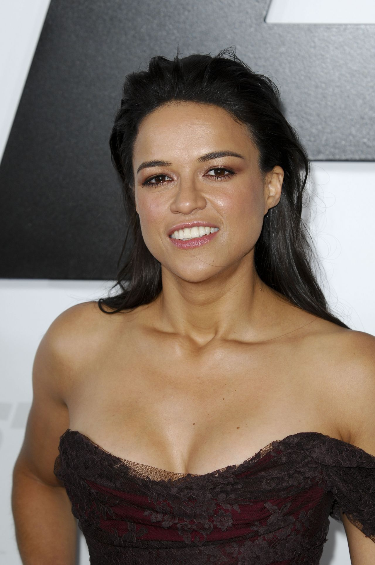 Michelle Rodriguez Furious 7 Premiere In Hollywood