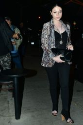 Michelle Trachtenberg - Out for Lunch at Craig