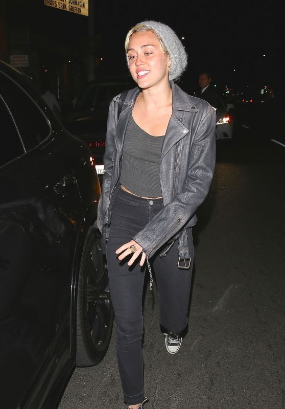 Miley Cyrus Night out Style -West Hollywood, April 2015